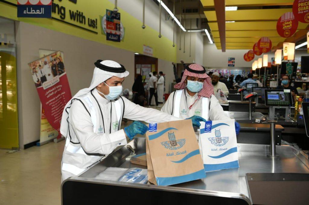أمانة الشرقية: توزيع أكثر من 150 ألف كيس بلاستيكي حراري و 100 ألف كيس ورقي كمرحلة أولى على المنشآت الغذائية