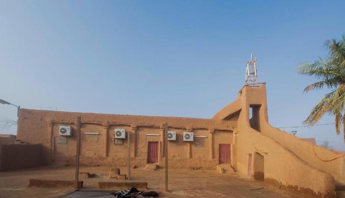 من مشروع ولي العهد لترميم وتأهيل المساجد التاريخية بالمملكة .. مسجد البرقاء التاريخي بالأسياح