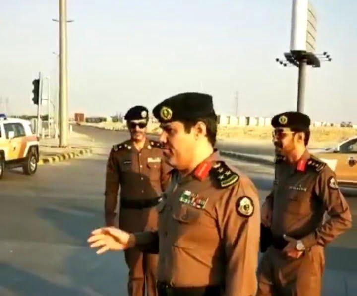 شرطة الخرج تواصل جهودها في تطبيق قرار منع التجول