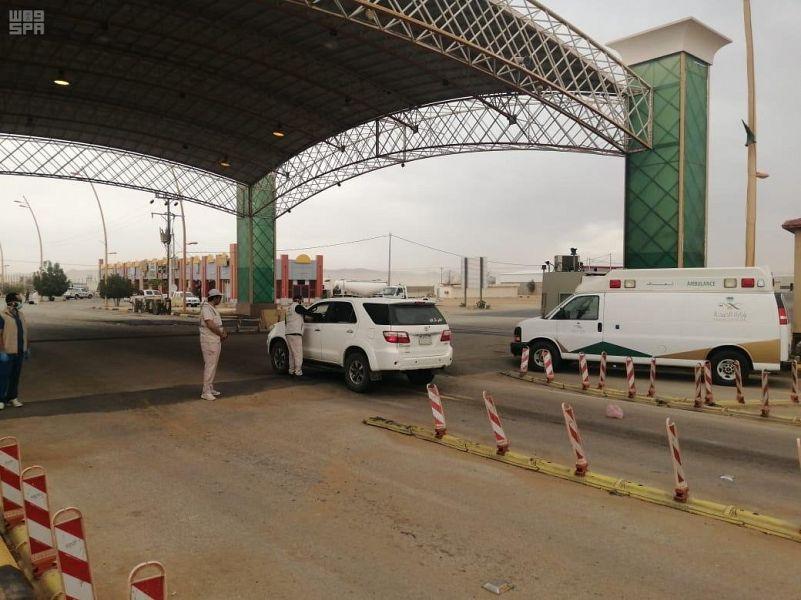 الفرق الميدانية بصحة نجران تواصل أعمال الفرز البصري بمداخل المنطقة