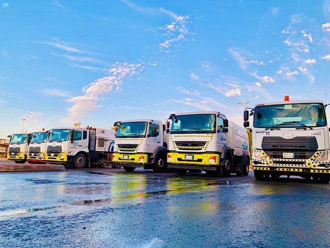 أمانة محافظة جدة ترفع 440 ألف طن من النفايات في إطار جهود نظافة وتعقيم المرافق العامة