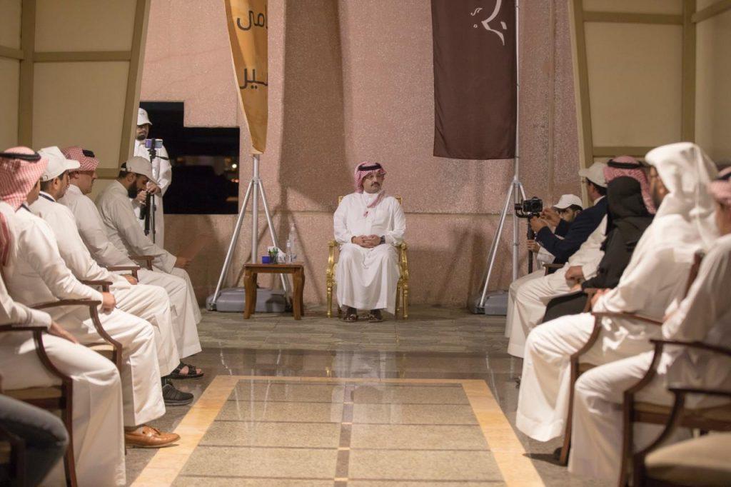 """الأمير تركي بن طلال يدشن مشروع """"المساند البلدي"""""""