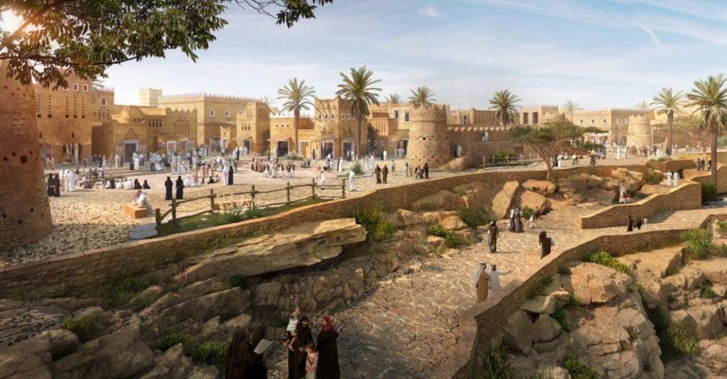 بدء تنفيذ المرحلة الأولى من أكبر مشروع تراثي وثقافي في ...