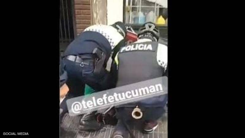 """""""جورج فلويد"""" جديد في الأرجنتين.. وفيديو يوثق المأساة"""
