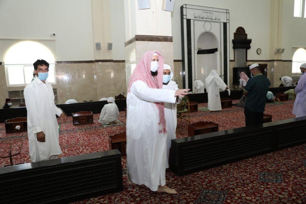 الجوامع الأساسية والمساجد الرديفة بنجران تستقبل المصلين لأداء صلاة الجمعة