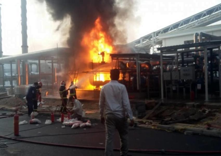 حريق في مجمع ألومنيوم يستخدم في الصناعات الدفاعية جنوبي إيران