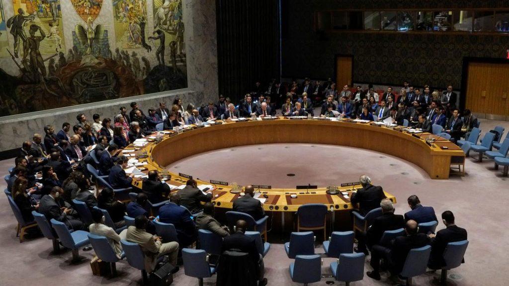 رئيس مجلس الأمن الدولي: انتهاكات إيران لحقوق الإنسان لا تزال تشكّل تحديًا خطيرًا