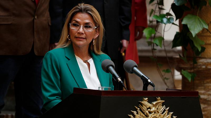 رئيسة بوليفيا تعلن إصابتها بفيروس كورونا المستجد