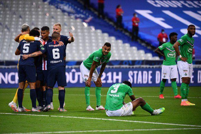 باريس سان جيرمان بطلاً لكأس فرنسا للمرة 13 في تاريخه