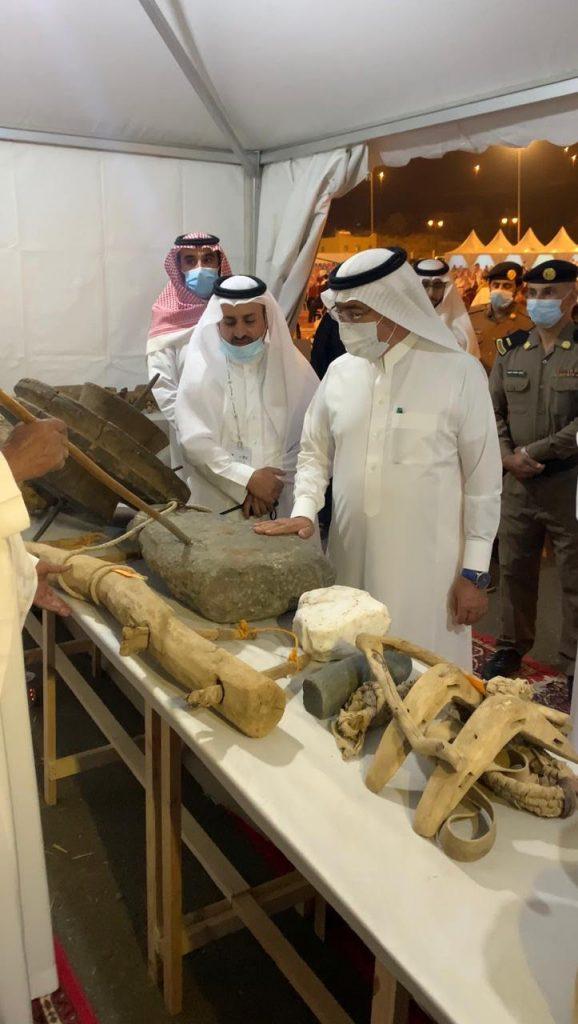مهرجان البر ببللحمر يختتم فعالياته بحضور أمين عسير