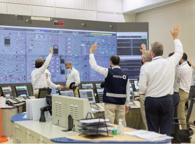 الإمارات تنجح بتشغيل أول مفاعل نووي سلمي في العالم العربي