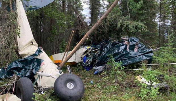 مصرع سبعة أشخاص إثر تصادم طائرتين خفيفتين في ألاسكا