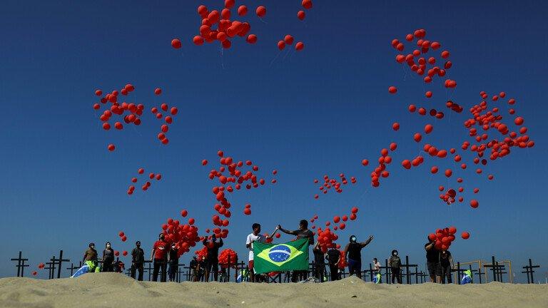 البرازيل.. أكثر من 3 ملايين مصاب بكورونا وما يفوق 100 ألف حالة وفاة