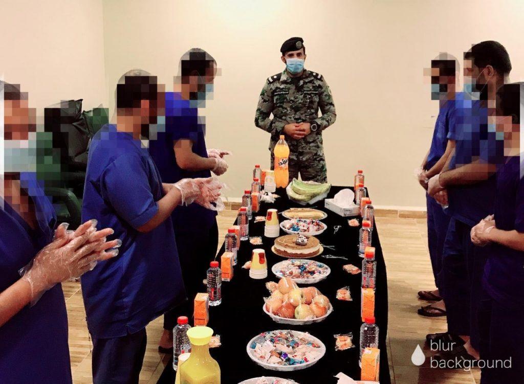 سجون منطقة تبوك تعايد نزلاء السجون بالمنطقة