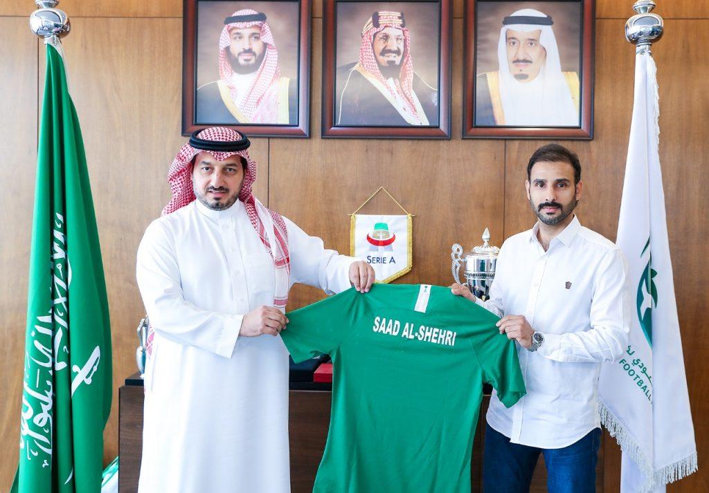 تمديد عقد مدرب الأخضر الأولمبي سعد الشهري لأربعة سنوات