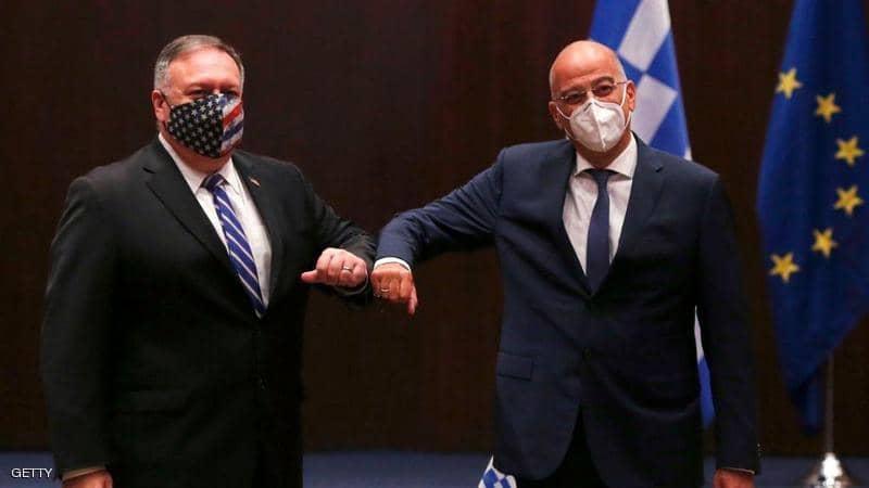 لقاء أمريكي-يوناني لحل أزمة التوتر في شرق المتوسط