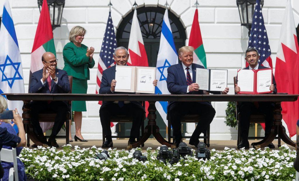 الإمارات والبحرين وإسرائيل توقع اتفاق السلام في البيت الأبيض