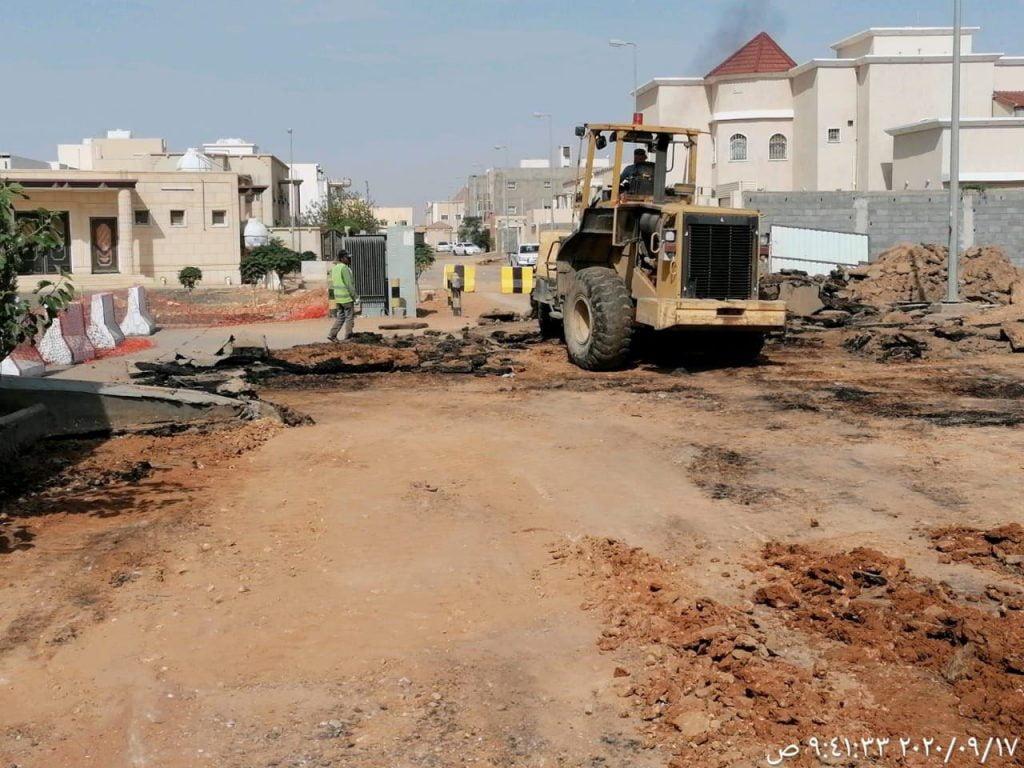 بلدية طريف تستكمل تنفيذ مشروعات تنموية بالمحافظة