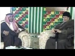 شاهد .. دهاء بندر بن سلطان في التعامل مع الرئيس الليبي معمر القذافي