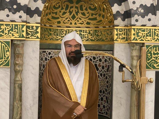 السديس: تعاونوا مع منسوبي رئاسة الحرمين وتقيدوا بالإجراءات الاحترازية