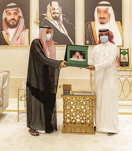 أمير منطقة الباحة يستقبل رئيس الاتحاد السعودي للرياضات اللاسلكية