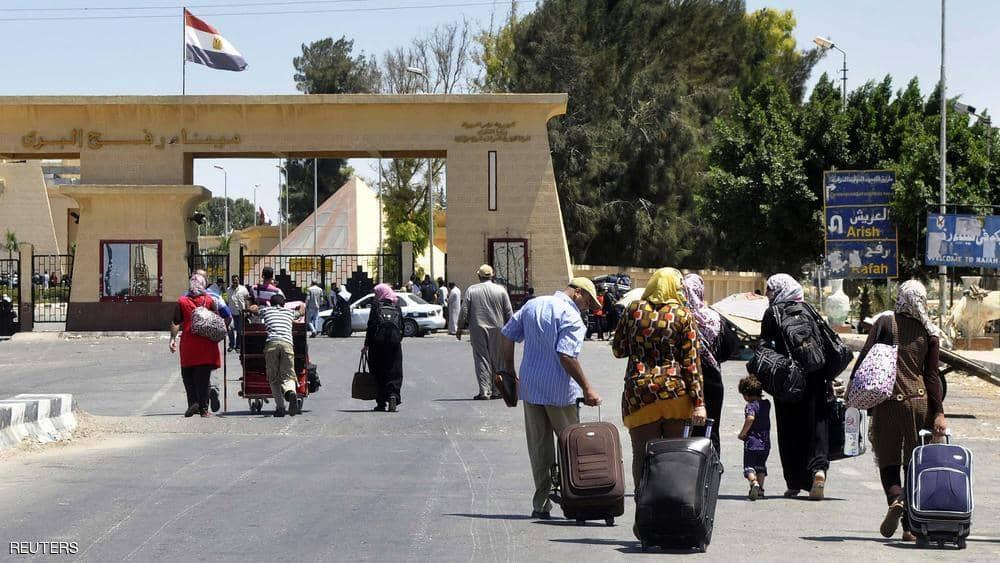 فتح معبر رفح بين مصر وقطاع غزة لمدة 3 أيام