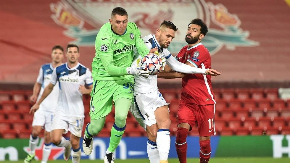 ليفربول يسقط في عقر داره أمام أتالانتا بدوري الأبطال