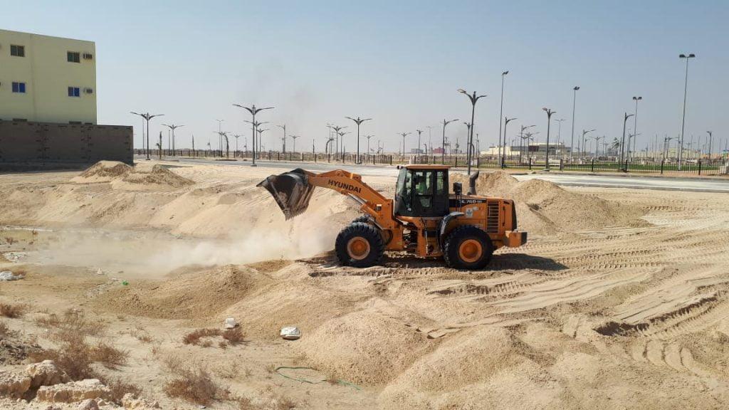بلدية الجبيل: ردم 22 تجمع مائي داخل أحياء المحافظة خلال شهر