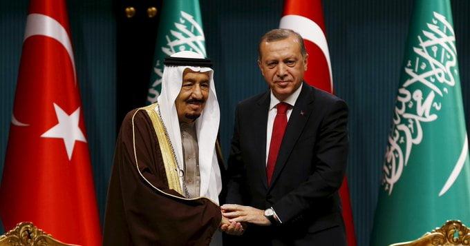 الرئاسة التركية: أردوغان والملك سلمان يتفقان على حل الخلافات عبر الحوار