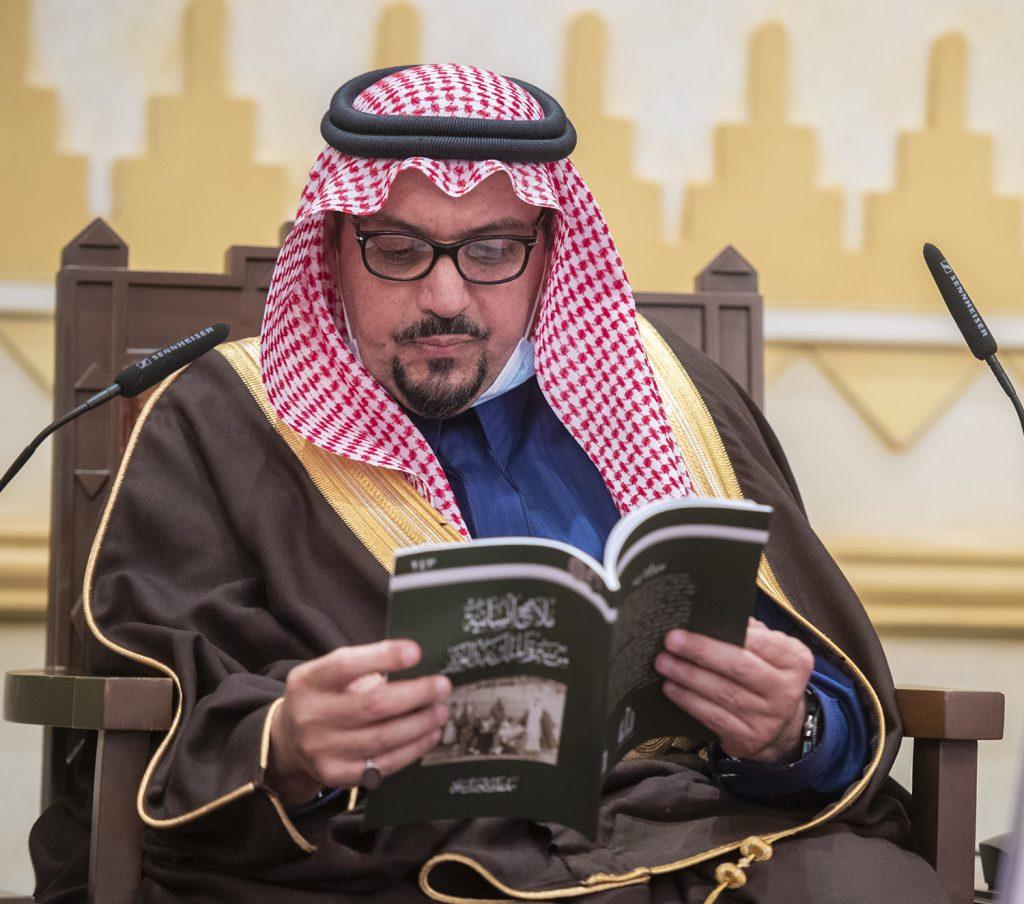 """خلال جلسته الأسبوعية .. أمير القصيم: الملك عبدالعزيز تفرد بخصلة """"استصلاح الرجال"""""""