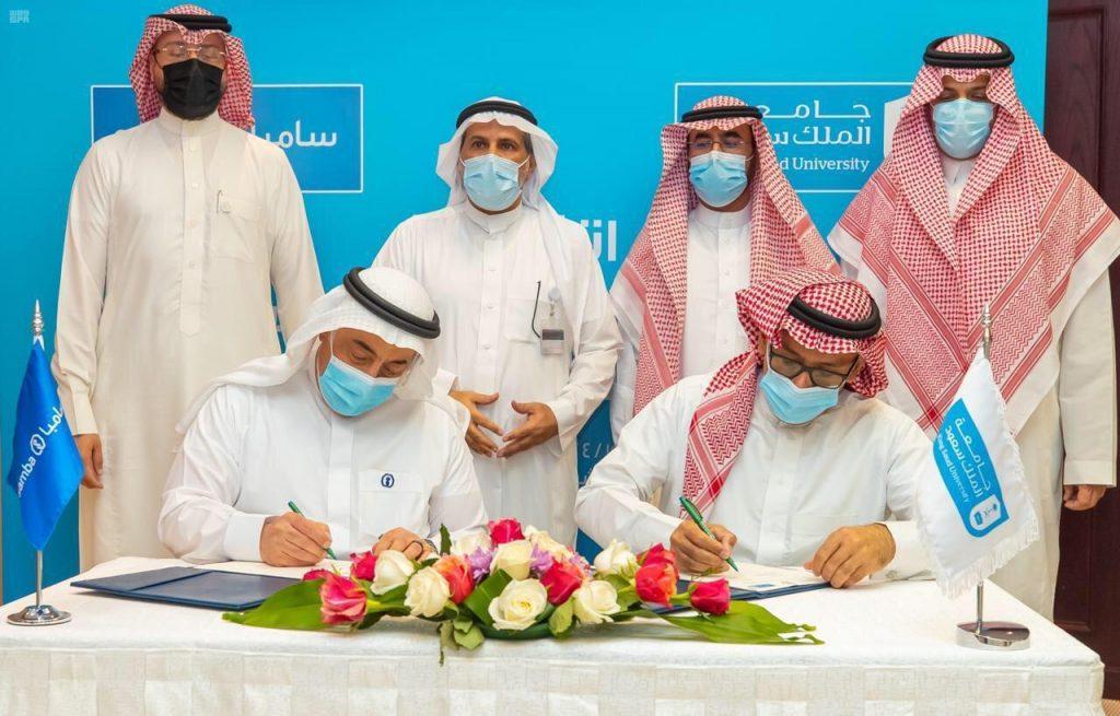 رئيس جامعة الملك سعود يوقع اتفاقية لتأسيس كراسي علمية بالجامعة