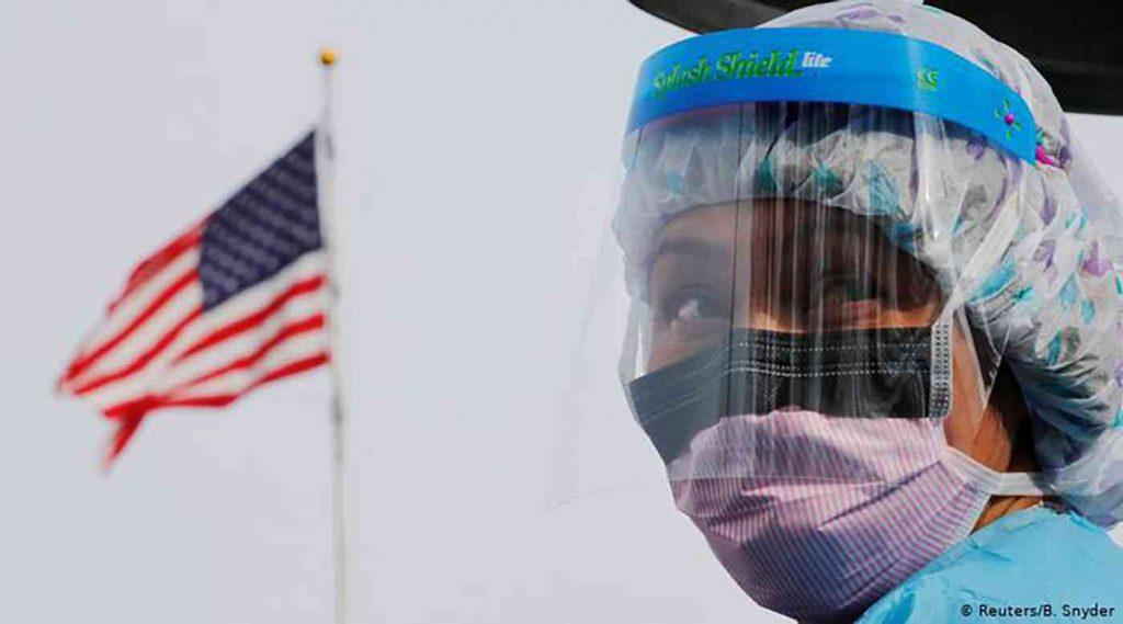 الولايات المتحدة تسجل 50 ألف إصابة بفيروس كورونا ومئات الوفيات