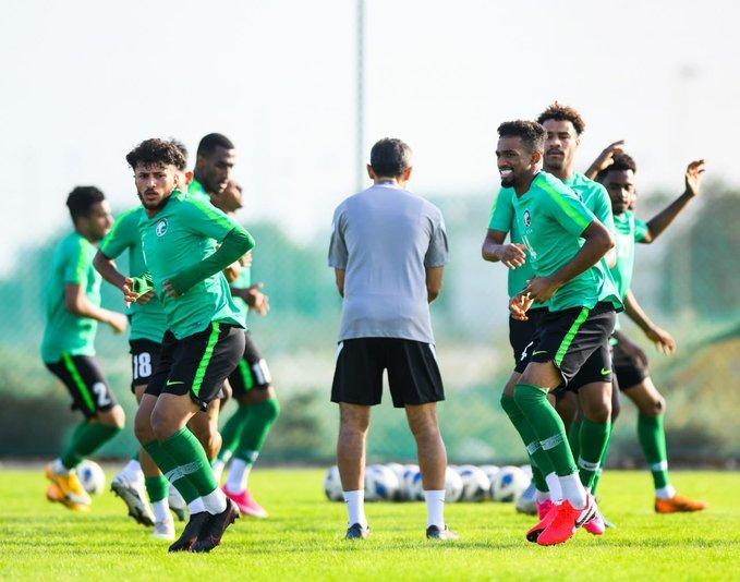 المنتخب السعودي تحت 19 عامًا يواصل تدريباته في الدمام