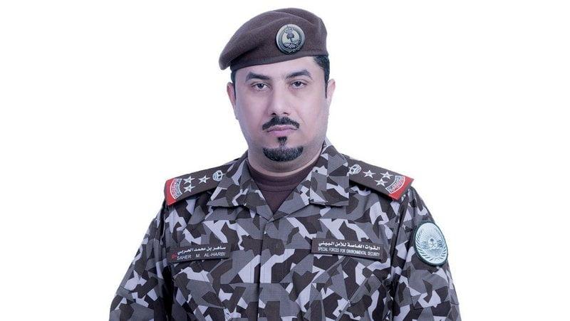 """قائد القوات الخاصة للأمن البيئي يتلقى الجرعة الأولى من لقاح """"كورونا"""""""