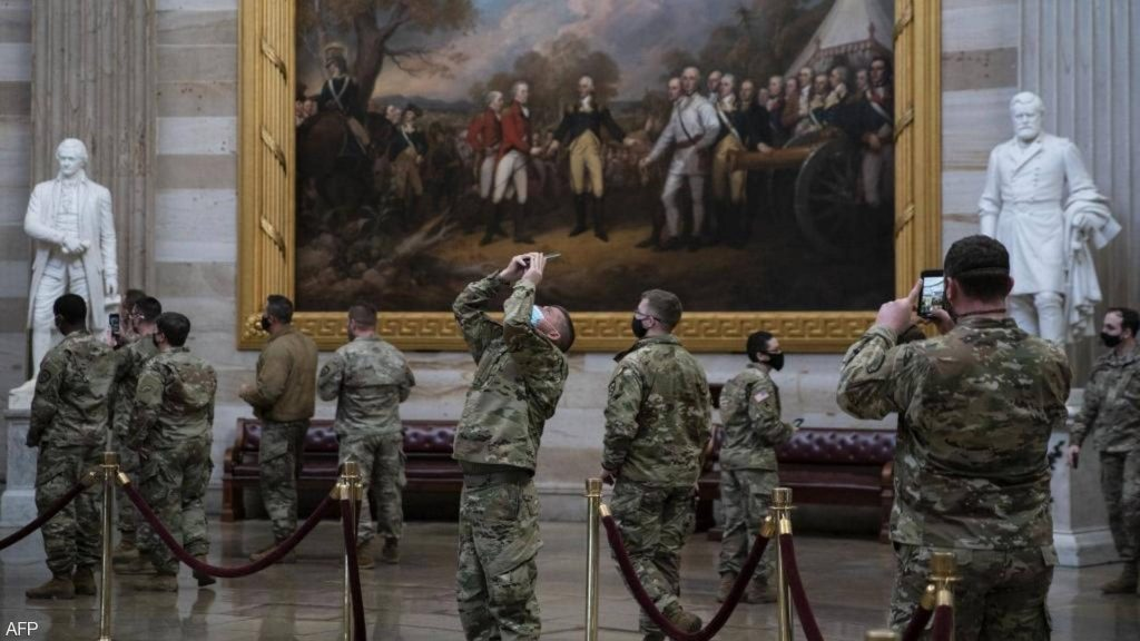 تقرير: كورونا يتفشى بين أفراد الحرس الوطني الأمريكي