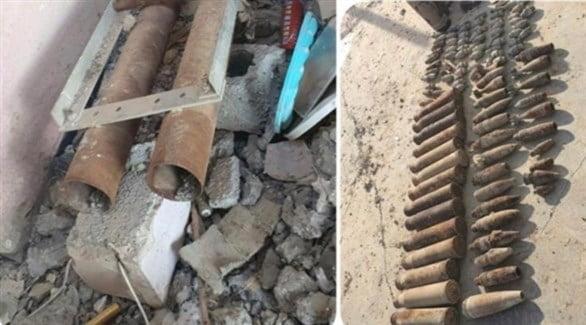 ضبط صواريخ عدة مع منصات إطلاقها في محافظة كركوك العراقية