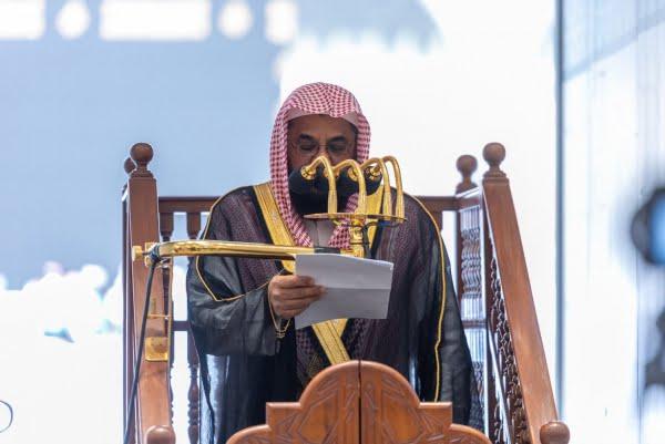 سعود الشريم في خطبة الجمعة :ينبغي للمرء في تعامله مع الآخرين ونظرته إليهم عند الاقتضاء أن يكون على ذكر من المنهج المتبع في القرآن الكريم