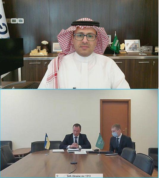 """""""المملكة"""" و """"أوكرانيا"""" توقعان اتفاقية تعاون في مجال خدمات النقل الجوي"""