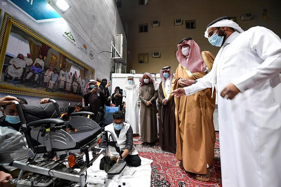 نائب أمير منطقة المدينة المنورة يفتتح مقر جمعية طيبة للإعاقة الحركية