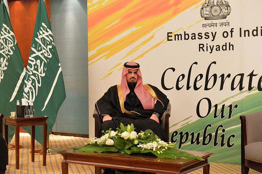 نيابة عن أمير الرياض.. أمين المنطقة يحضر حفل السفارة الهندية احتفاءً باليوم الوطني لبلادها