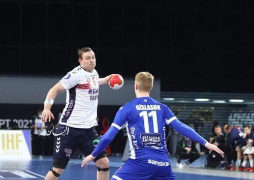 منتخب النرويج يفوز على نظيره الايسلندي في كأس العالم لكرة اليد