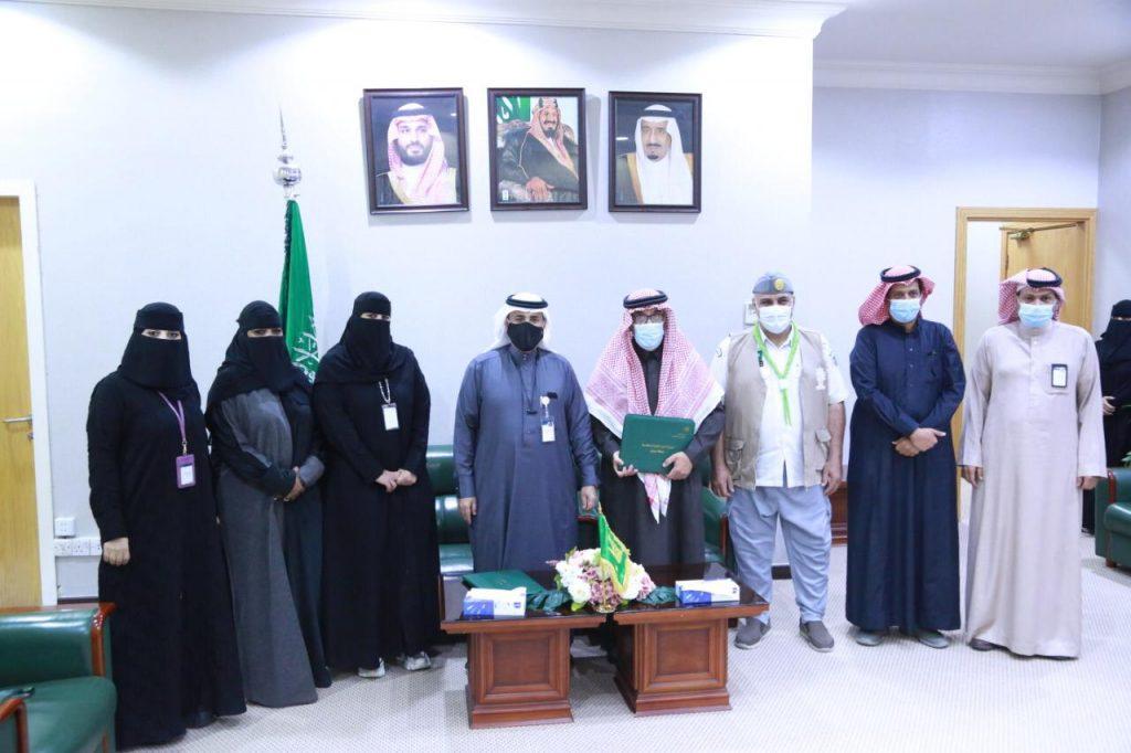 موارد الرياض يوقع اتفاقية لتدريب نزيلات الدور على مهام الكشافة