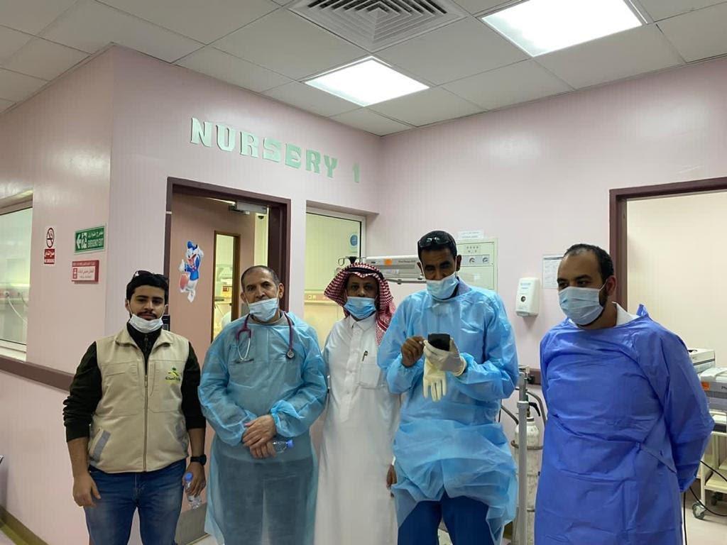 إنقاذ توأم خديج بمستشفى الملك فهد التخصصي في تبوك