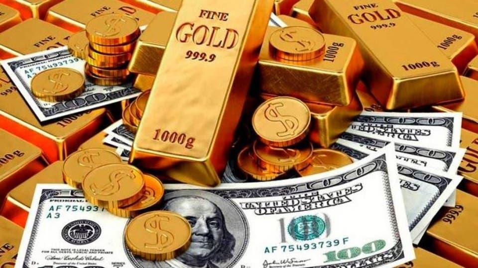 أسعار الذهب تنخفض بفعل ارتفاع الدولار