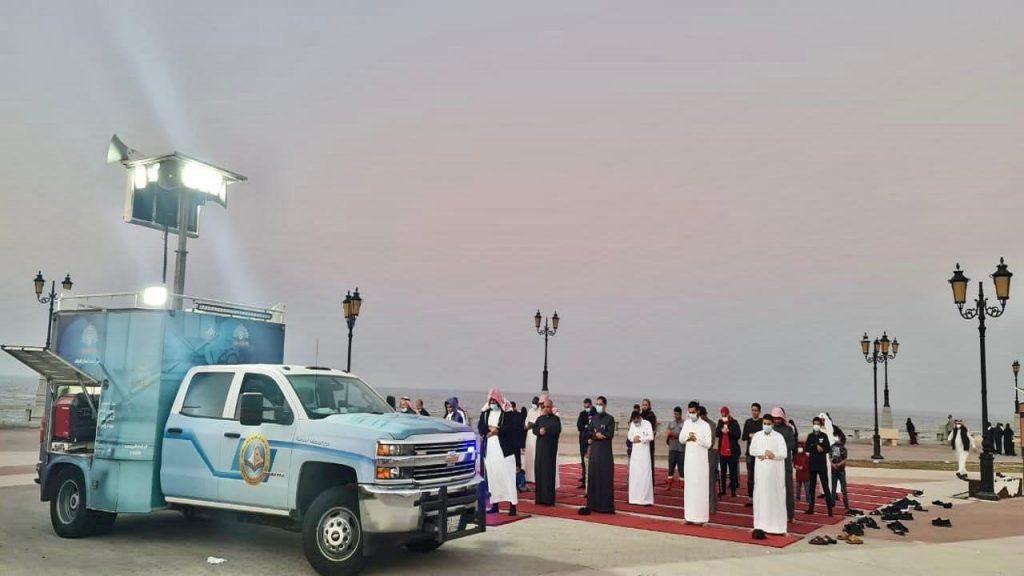 أكثر من 23 ألف مصلٍ استفادوا من المصليات المتنقلة بالشرقية