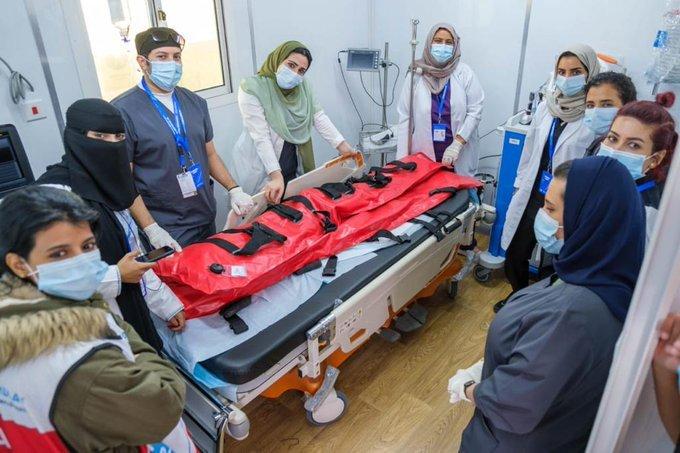 المدينة الطبية بجامعة الملك سعود تشارك بمركز طبي يديره 31 طبيبًا وممرضًا لتأمين سلامة المشاركين بسباق الفورمولا إي