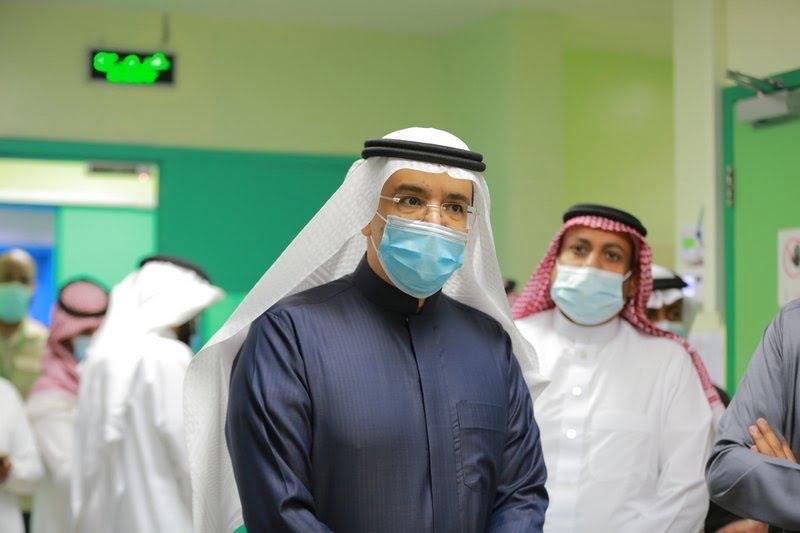 """في أول زيارة.. """"التميمي"""" يجتمع مع مديري 3 مستشفيات في """"وادي الدواسر"""""""