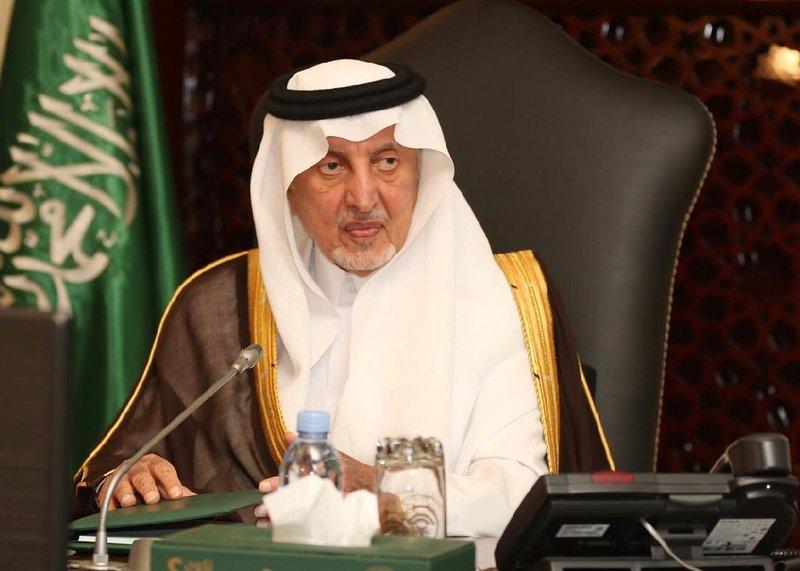أمير مكة يستقبل رئيسي جامعة الملك عبدالعزيز وجامعة أم القرى