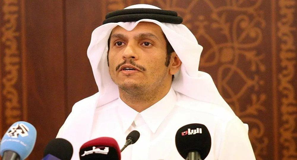 وزير خارجية قطر: نثمن بيان العلا المتضمن إنهاء الأزمة الخليجية