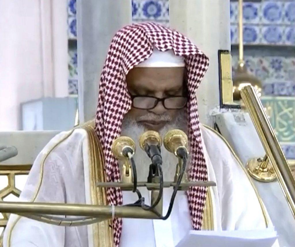خطيب المسجد النبوي: الأمن لا يتحقق إلا بتطبيق الدين الإسلامي ودستور بلادنا القرآن الكريم والسنة النبوية